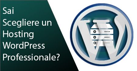 Miglior Hosting WordPress Professionale