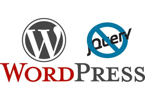 Rimuovere il caricamento della versione jQuery standard di WordPress